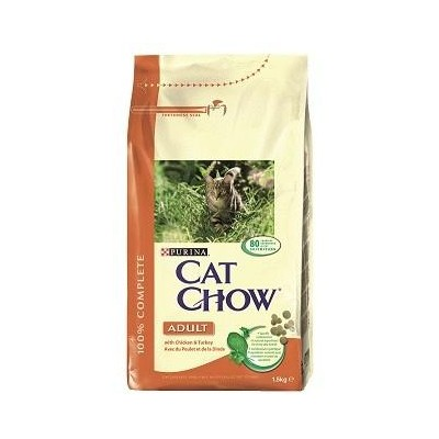 CAT CHOW ADULT POLLO 1.5 KG.