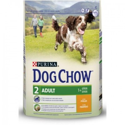 DOG CHOW ADULT POLLO 2,5 KG.