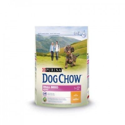DOG CHOW ADULT SMALL BREED POLLO 2.5 KG.