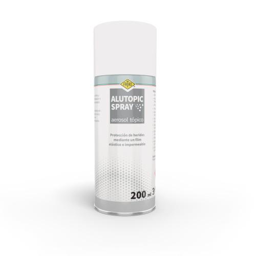 ALUTOPIC SPRAY 200 ML protector de heridas en animales mediante film transparente e impermeable
