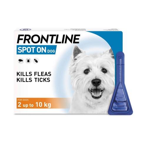 FRONTLINE PARA PERROS-  2 a 10 KG