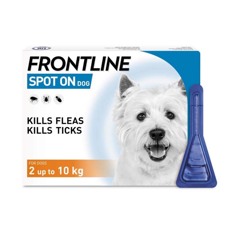 FRONTLINE PERROS 1 10KG 6 PIPETAS