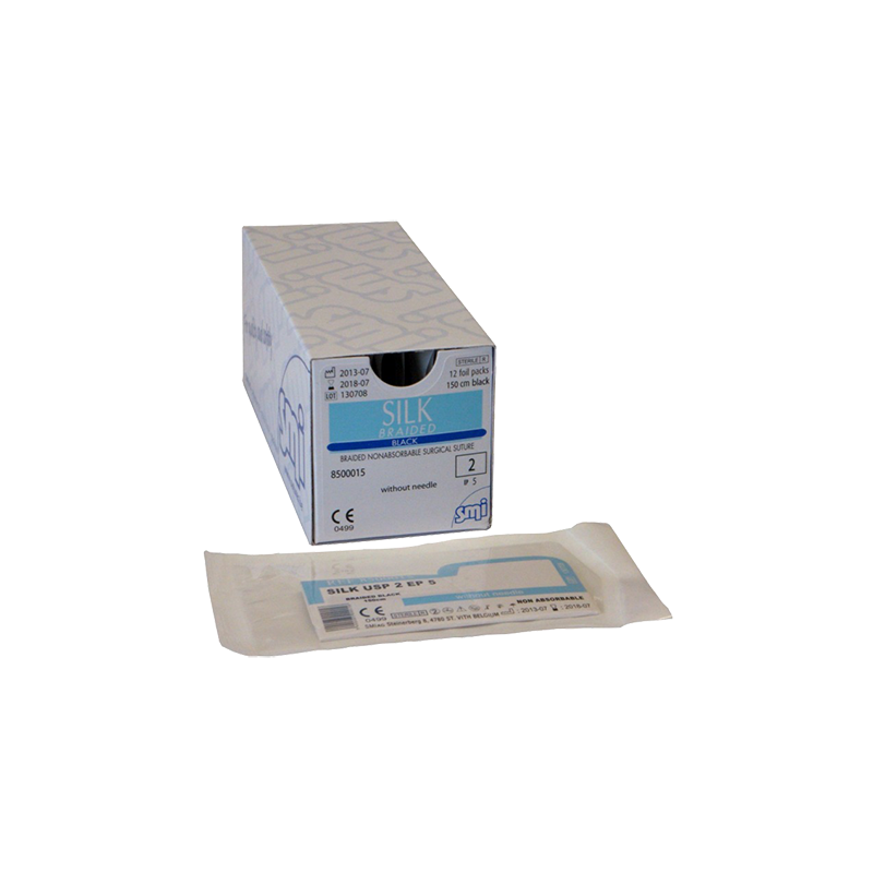 SEDA SMI SOBRE ESTERIL USP 0 - 150 cm (12 u.)