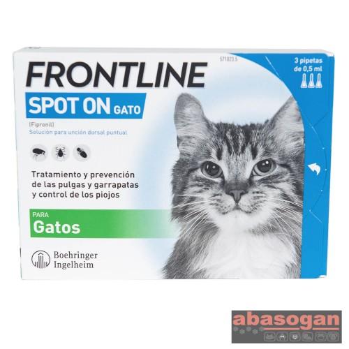 FRONTLINE GATOS 3 PIPETAS