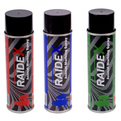 SPRAY RAIDEX PARA MARCAJE - VERDE 400 cc