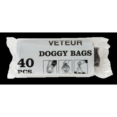DOGGY BAGS VETEUR. BOLSAS PARA EXCREMENTOS - 40 Uds.