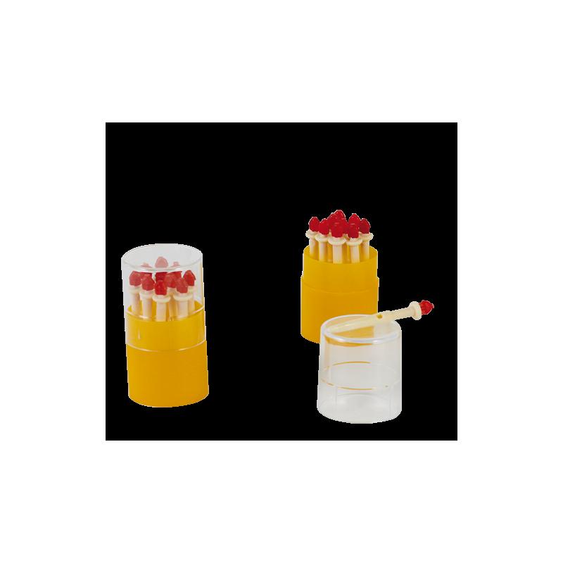 CANULAS MAMARIAS DE PLASTICO. LARGAS - 7 cm (10 uds)