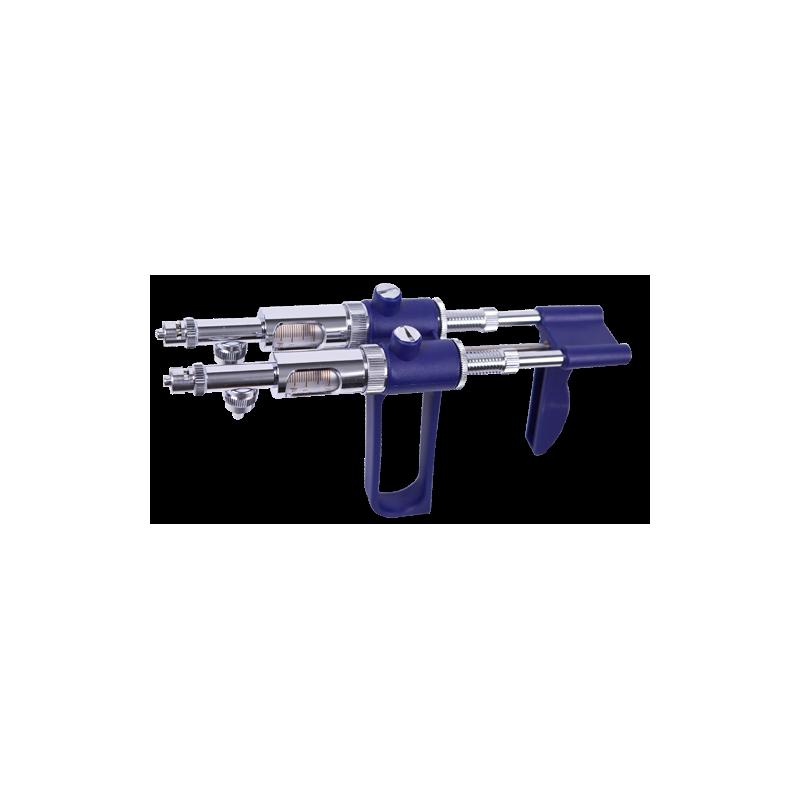 JERINGA SOCOREX DOBLE - 5 cc (CON TUBO DE ASCENSION)