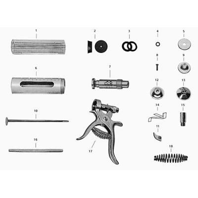 EMBOLO GOMA JERINGA HAUPTNER - 30/50 cc  (2)