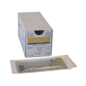 CATGUT SMI SOBRE ESTERIL USP 0 - 75 cm - CON AGUJA 3/8 30 mm (12 u.)