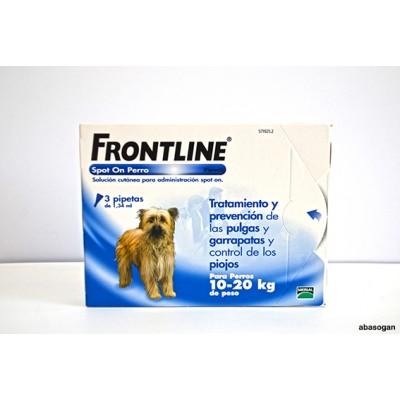 FRONTLINE PERROS 10-20 KG 3 PIPETAS
