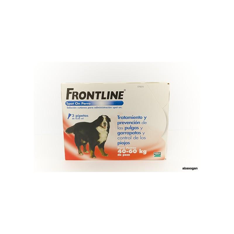 FRONTLINE PERROS 40KG-60KG  3 PIPETAS