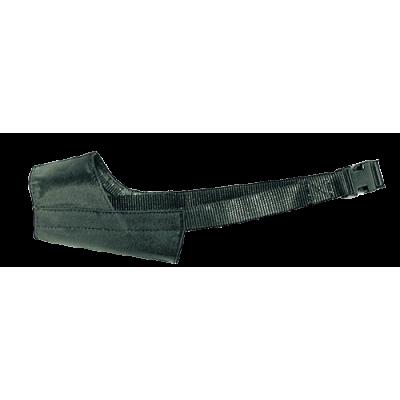 BOZAL PERRO. NYLON AJUSTABLE -XL  (21.5 cm)
